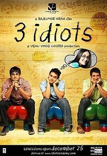 For 3 idiots 3 words i.e. emotional,enlightening and entertaining. This story and movie is better